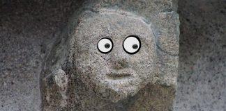 Stenansiktet - Stenansikte - Stone Face - Lekar för barnkalas